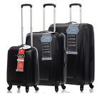 5 Cities Lightweight ABS Hard Shell Travel Carry On Cabin Hand Luggage Suitcase