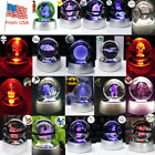 Pokemon Star Wars 3D LED Crystal Laser Night Light Table Desk Lamp Crafts Gift $27.23 CAD on eBay