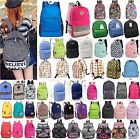 Boys Girls Rucksack Unambiguously Bag School Satchel Travel Canvas Backpack Bookbags