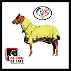 LOVE MY HORSE 600D 5'0 - 5'9  600D Waterproof Rainsheet Combo Rug Lime / Navy