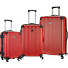 Travelers Club Luggage Madison 3 Piece 2-in-1 Luggage Set NEW