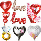 Foil Balloon Heart Shape Wedding Engagement Party Anniversary Helium Decoration