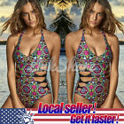 LOCAL Womens Bikini Set Floral Push up Padded Swimwear Swimsuit Bathing