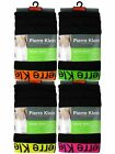 6 Mens Pierre Klein Cotton Boxer Shorts Trunks Underwear / Neon / All Sizes