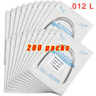 Dental Orthodontic Stainless Steel Arch Wires Round 12 Lower