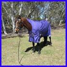 Love My Horse 5'6 - 6'6 1680D Rainsheet No Fill WUG Std Horse Rug Purple