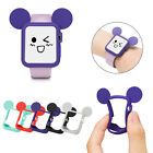 Cartoon Mouse Slim Soft Bumper Shockproof Rubber Case For Apple Watch Series 1 2