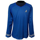 Star Trek Into Darkness Blue Yellow Red Casual Uniform Shirt Cosplay Costume