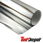 Mirror Silver Reflective Commercial Window Film Rolls 5% to 70% Shade Home Tint