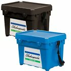 Shakespeare NEW Seatbox Fishing Box With Strap & 1 Side Tray