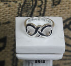 Infinity Solid Sterling Silver My Mom Is My Angel Mother Daughter Ring