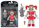 FIVE NIGHTS AT FREDDY&#039;S SISTER LOCATION 5&quot; FIGURES ENNARD BALLORA BABY 2017 NEW <br/> ENNARD BABY(CIRCUS) FT FOXY  BALLORA FUNTIME FREDDY NEW