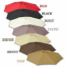 9ft Patio Umbrella Cover Canopy 8 Ribs Replacement Parasol Top Outdoor