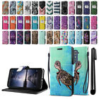 For ZTE Zmax Pro Carry Z981 Composition Book Design Wallet Case Kickstand + Pen