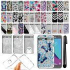 For Samsung Galaxy J3 Emerge J327 Ultra Thin Clear TPU Case Phone Cover + Pen
