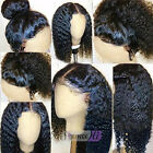 8A Pre Plucked 360 Lace Frontal Wigs 180% Density Curly Brazilian Hair Lace Wigs