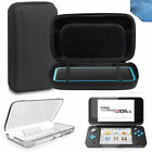 Hard Carry Bag+Crystal Cover Case+Screen Protector for Nintendo New 2DS XL 2017
