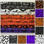 Eat Drink & Be Scary Halloween fabrics & bundles 100% cotton by Windham fabrics