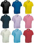 Girls/Ladies  Polo Shirts Plain Polo T Shirt  Kids Children School PE Uniform
