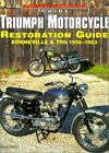 DAVID GAYLIN - Triumph Motorcycle Restoration Guide: ** Very Good Condition ** $68.95 USD