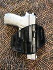 New Black Leather OWB Holster for Sig Sauer Made in USA