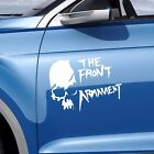 Crows Zero The Front of Armament Cool Skull Car Stickers Reflective Car Decals
