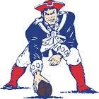 New England Patriots Mascot LOGO Vinyl Decal / Sticker 5 sizes!!