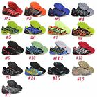 MEN's SALOMON Speedcross 3 Running Outdoor Athletic Running Shoes Trainers Sport
