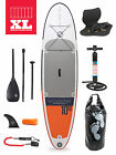 "XL Sport Air 10'10 x 6"" Inflatable Paddle Board SUP + Deluxe Package"