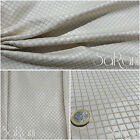 Fabric Check Pattern Rhombuses Furnishing Sofas Bed Table Curtains SARANI