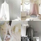 Kids Baby Bedding Bed Valance Canopy Netting Round Dome Mosquito Net Curtain