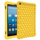 Silicone Case Cover Kids Friendly for All-New Amazon Fire HD 8 Tablet 7th 2017