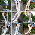 Внешний вид - Baby Kids Toddlers Girls Knee High Socks Tights Leg Warmer Stockings One Size