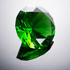 """LONGWIN 80mm Crystal Diamond Paperweight Solid Color Wedding Gifts 3.15"""" W фото"""