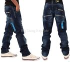 Peviani Mens Boys Cantly Straight Fit Star Jeans Hip G Hop Is Wear Time Money DB