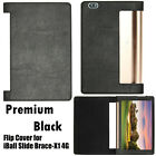 PREMIUM BLACK FLIP TABLE TALK COVER CASE For iBall Slide Brace X1 4G Tablet