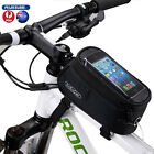 Water Resistant Front Top Tube Pannier Bike Frame Storage Bag Mobile Phone Holde