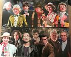 """2 Different Doctor Who Canvas Prints 24""""x10"""" On a wooden frame, lovely items"""