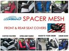 Custom Fit Front & Rear Coverking Spacer Mesh Seat Covers for Chevy Aveo