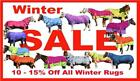 LOVE MY HORSE 1200D / 300g 6'0 Waterproof Winter Combo Horse Rug 7 Colors SALE