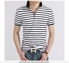 2017 Men Striped polo shirt solid Tops Tees Shirt Summer Sports Men Clothing