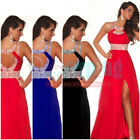 New Chiffon Long Bridesmaid Formal Gown Ball Party Cocktail Evening Prom Dress