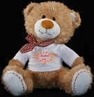 Personalised Teddy Bear 30cm Lovely Birthday Gift Boy or Girl Print Soft