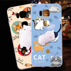 For Huawei 5X Squishy Cute Cat Fundas 3D Silicone Cover Sleeping Kitty Coque