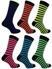 1 Mens Bassett Stripe Neon Teddy Boy Fancy Dress Party Socks UK 6-11