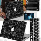 Blackboard Math Painted Shell Cover Hard Case for MAC Macbook Air11 12 Pro 13 15