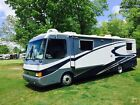 No Reserve Used Diesel Pusher RV Motorhome Slide new tires Onan 8000 generator