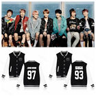 Внешний вид - KPOP BTS Baseball Uniform Bangtan Boys Wings Jung Kook Varsity Jacket JIMIN V
