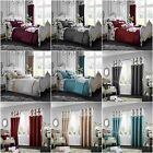 KOH Luxury Duvet Cover Sets / Fully Lined Curtains / Cushion Covers /Door Panels image