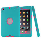 Heavy Duty Kids Hybrid Shock Dirt Proof Case Cover for Apple iPad 4 3 2/mini/Air
